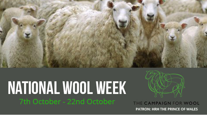 National Wool Week 7th – 22nd October 2017